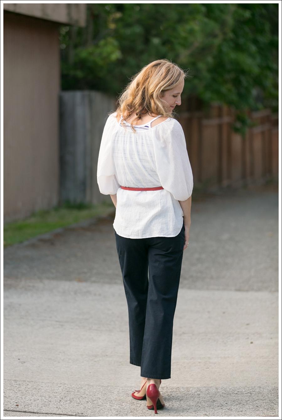 Blog Joie Blouse Elevenses Khakis-10
