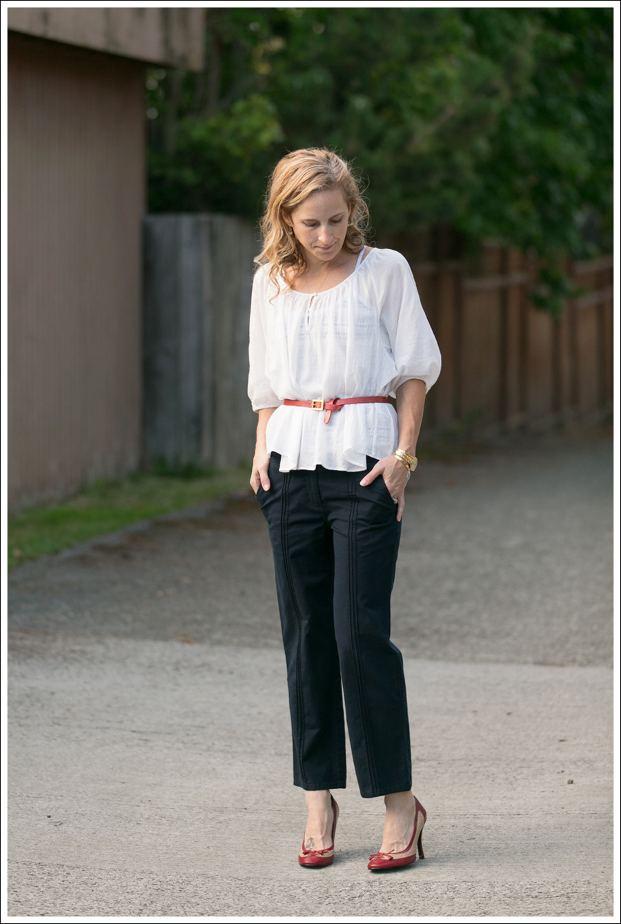 Blog Joie Blouse Elevenses Khakis-6