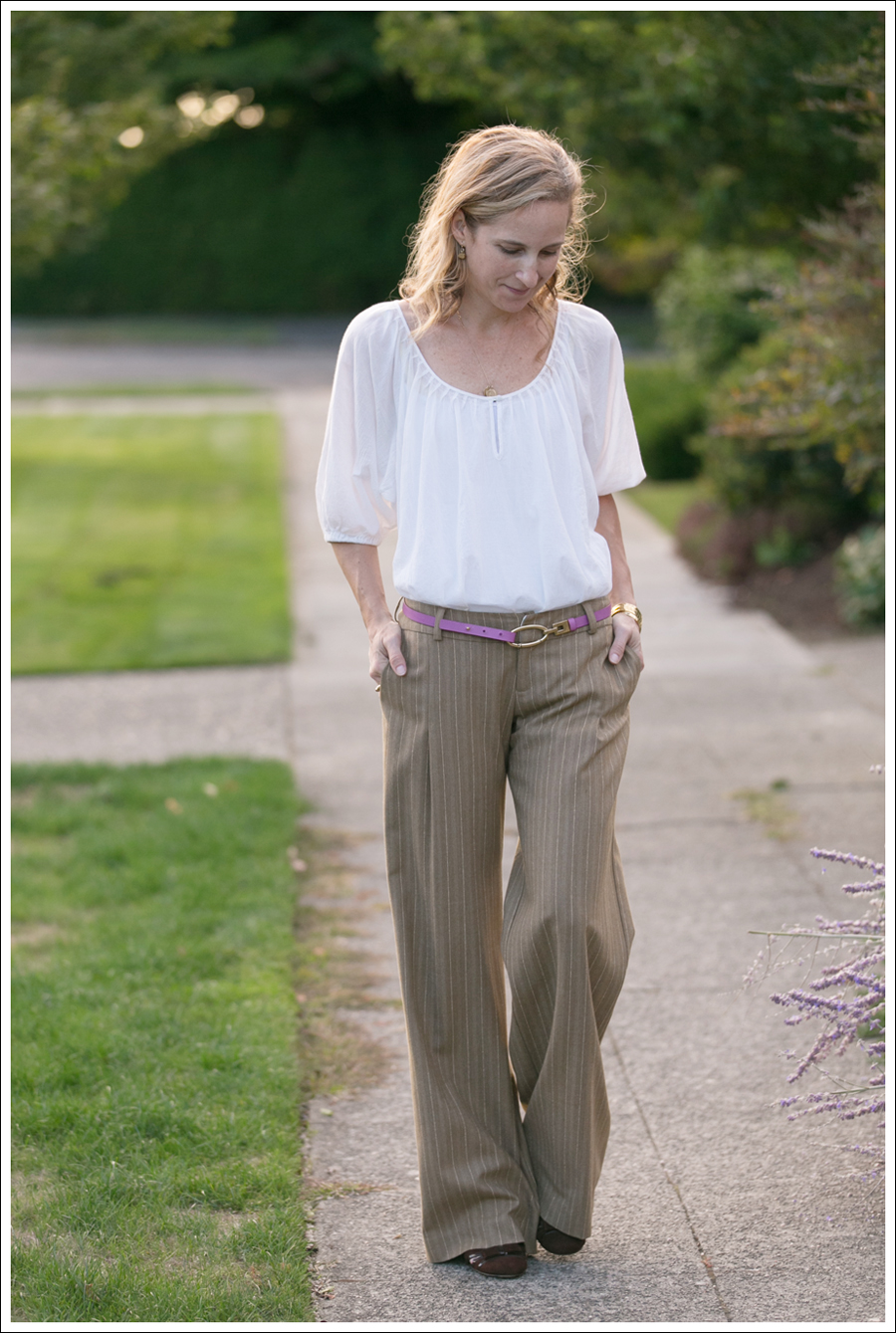 Blog Joie Blouse Super Wide Leg Pants-1