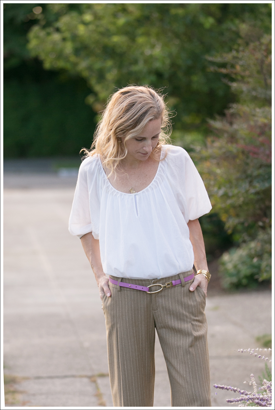 Blog Joie Blouse Super Wide Leg Pants-2