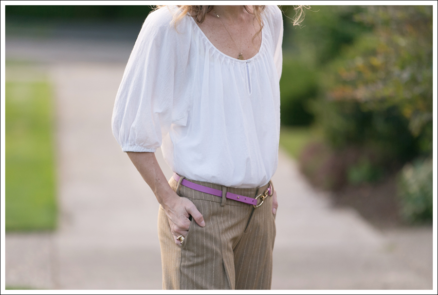 Blog Joie Blouse Super Wide Leg Pants-4