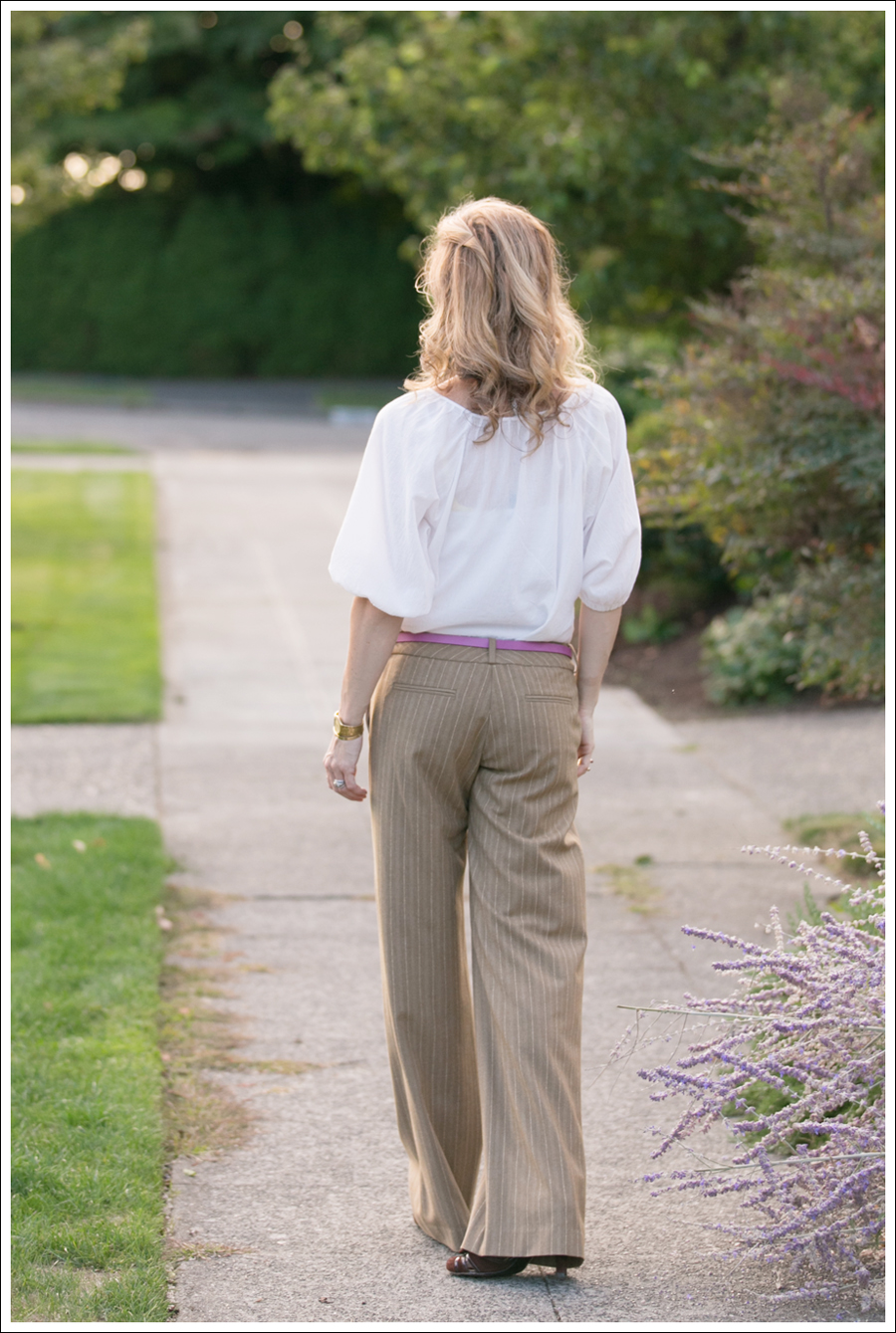 Blog Joie Blouse Super Wide Leg Pants-5