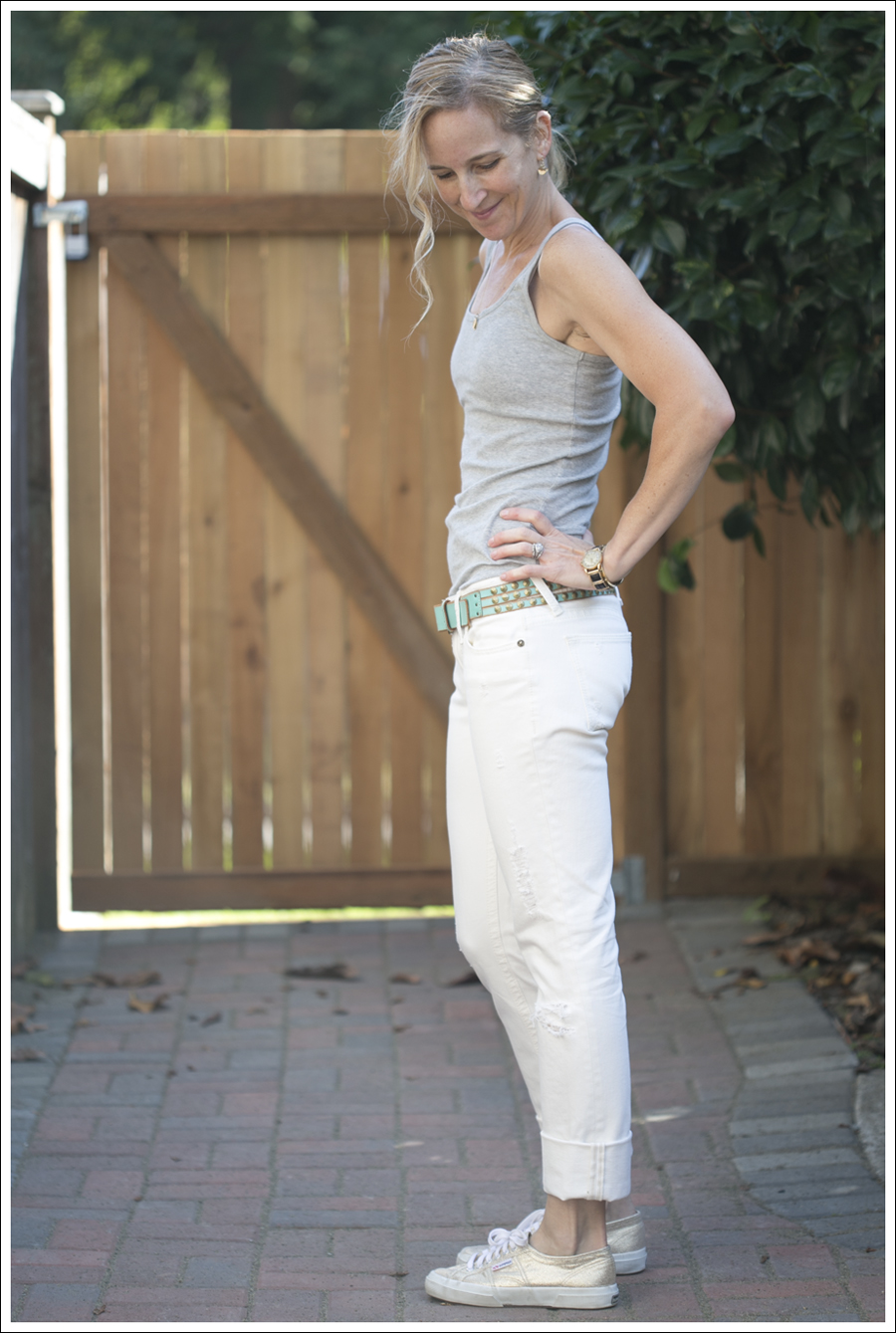 BlogDL1961 White Grey Tank Jean Shirt-5