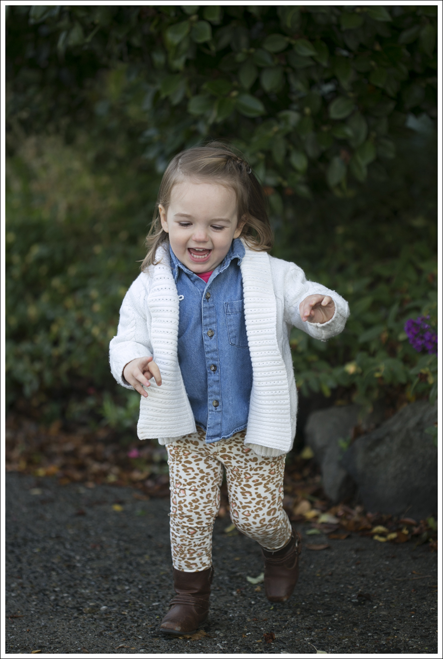 103 weeks leopard pants denim shirt cream sweater-1