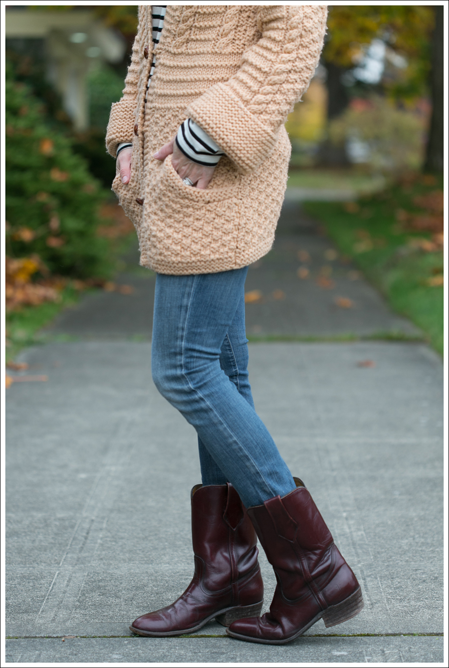 Blog Chunky Vintage Sweater StyleMint Goldsign Frye-5