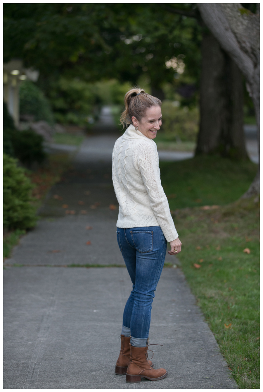 Blog Cream J Crew Sweater Destroyed Blank Lace up Boots-4
