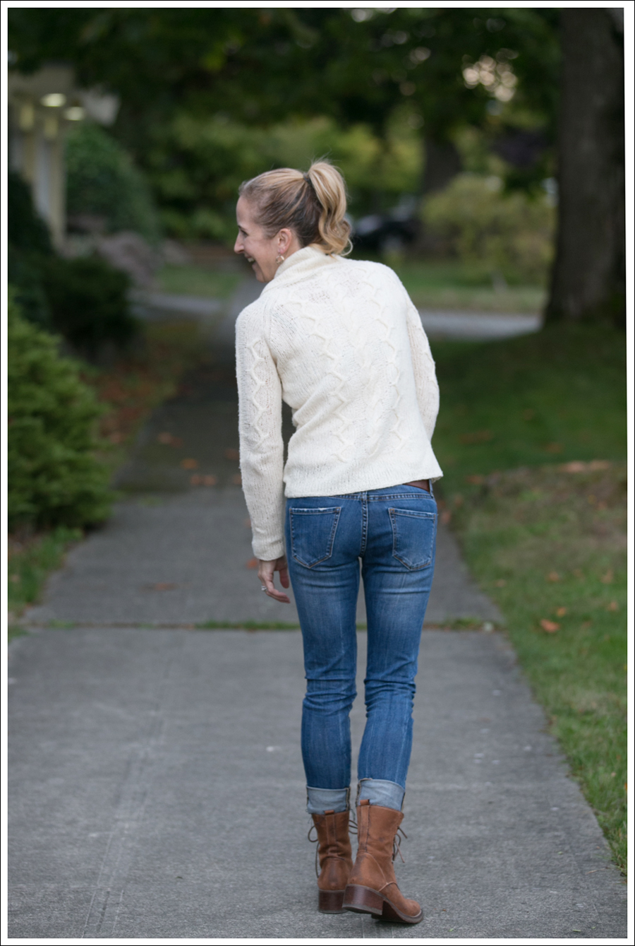 Blog Cream J Crew Sweater Destroyed Blank Lace up Boots-5