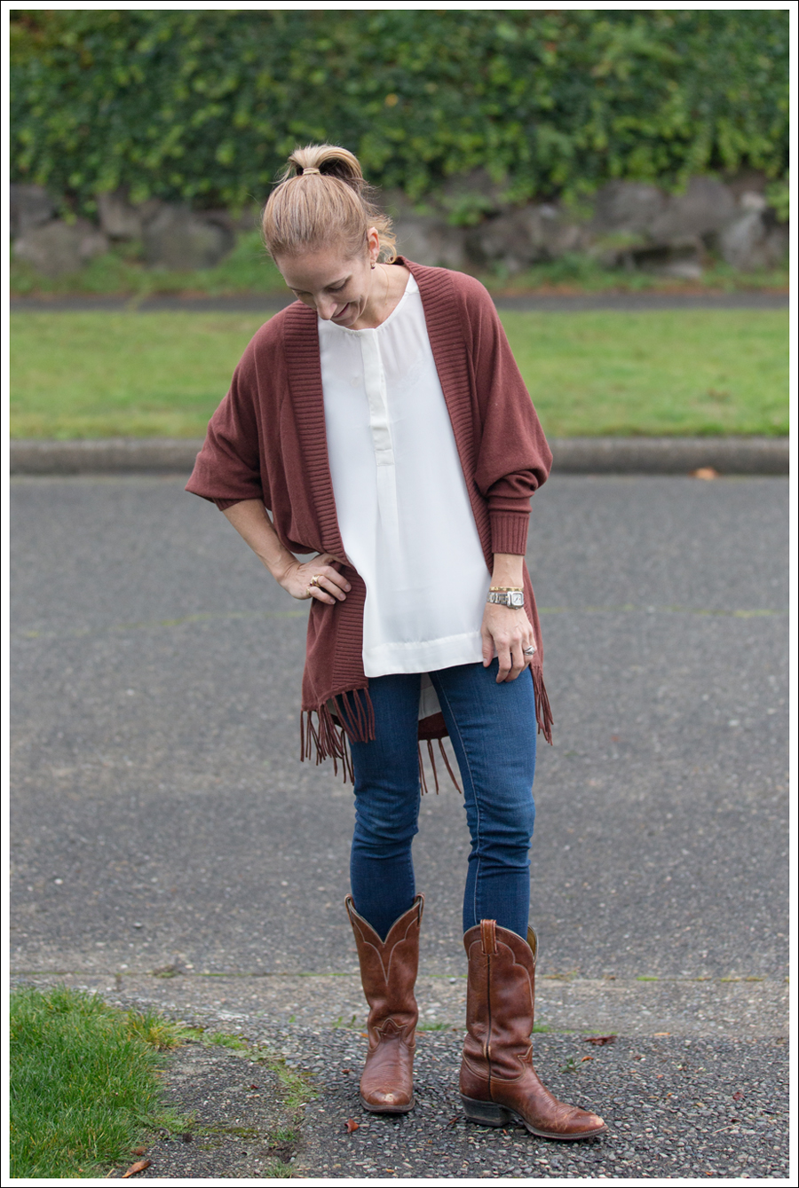 Blog Jamison Fringe Sweater J Brand Skinny Cowboy Boots-1