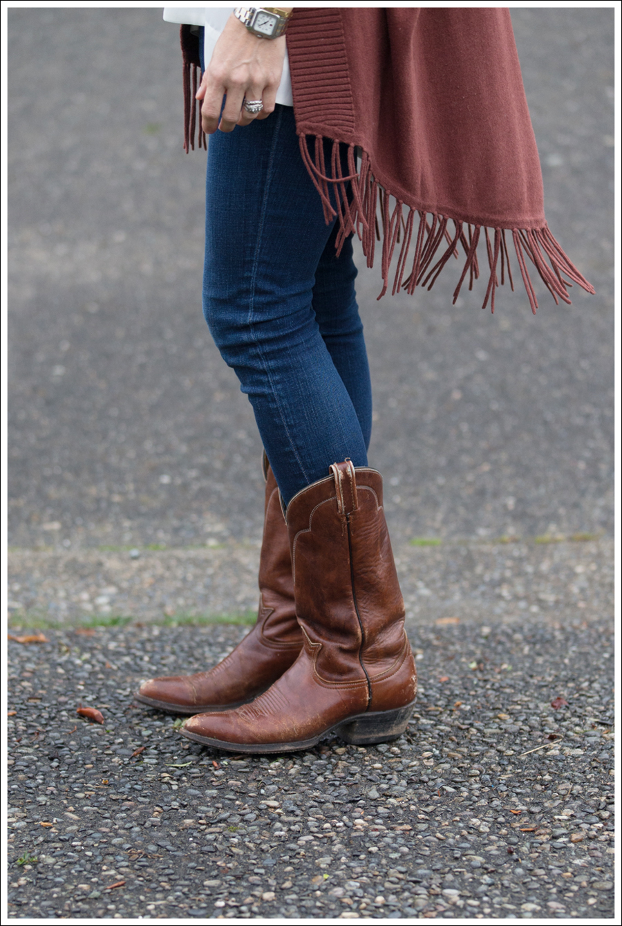 Blog Jamison Fringe Sweater J Brand Skinny Cowboy Boots-3
