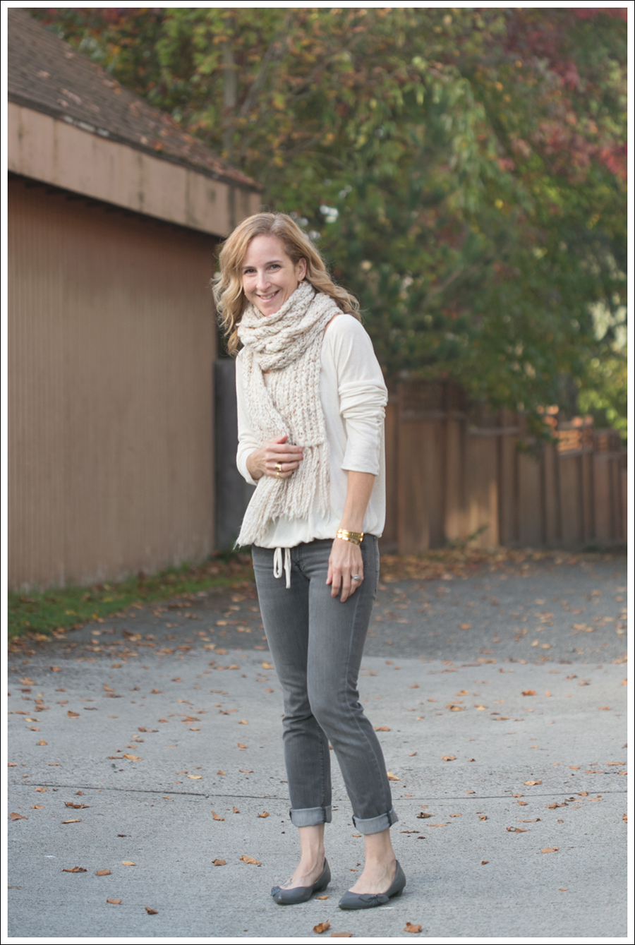 blog Lady and the Sailor Scarf 7 For All Mankind Roxanne-1