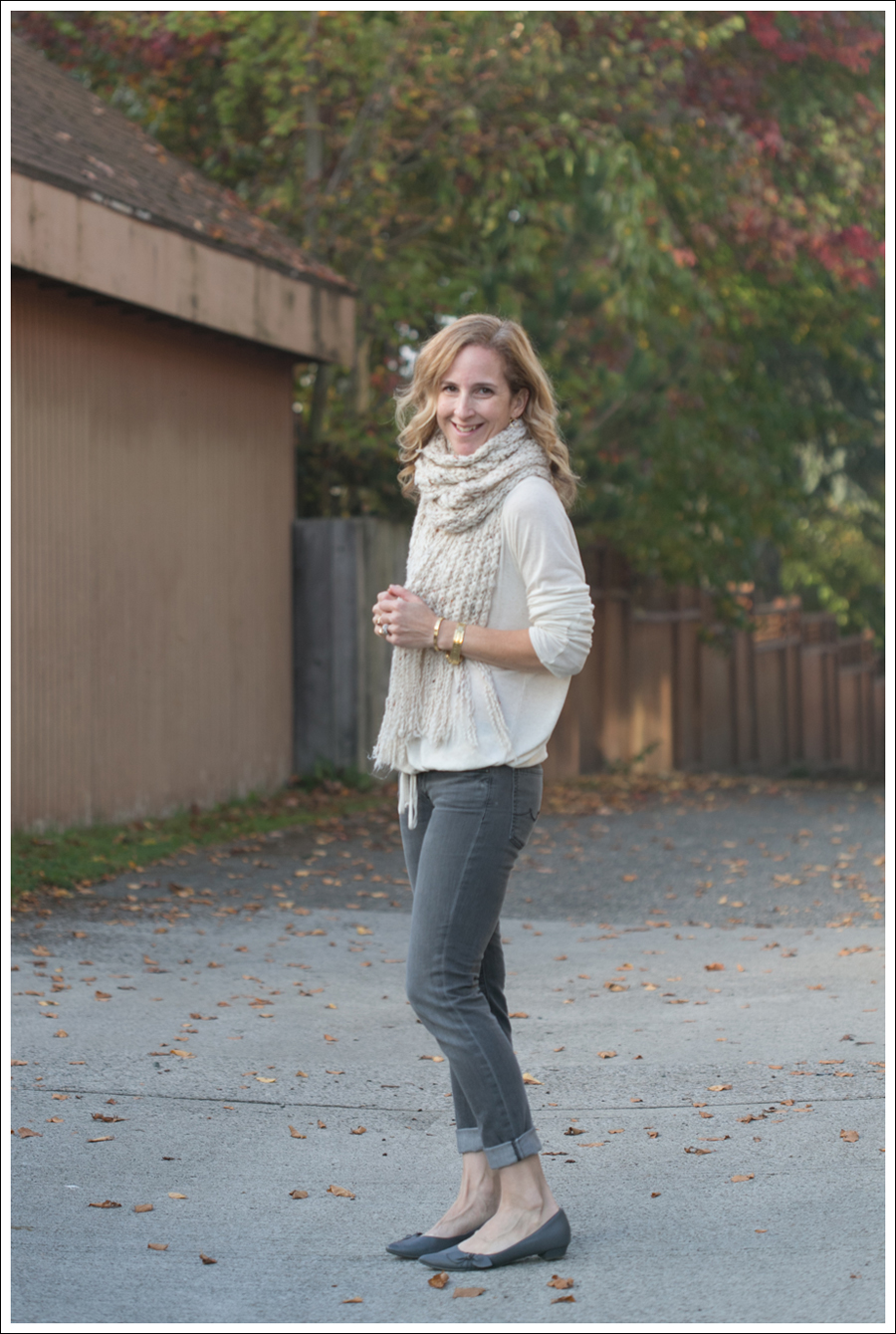 blog Lady and the Sailor Scarf 7 For All Mankind Roxanne-3