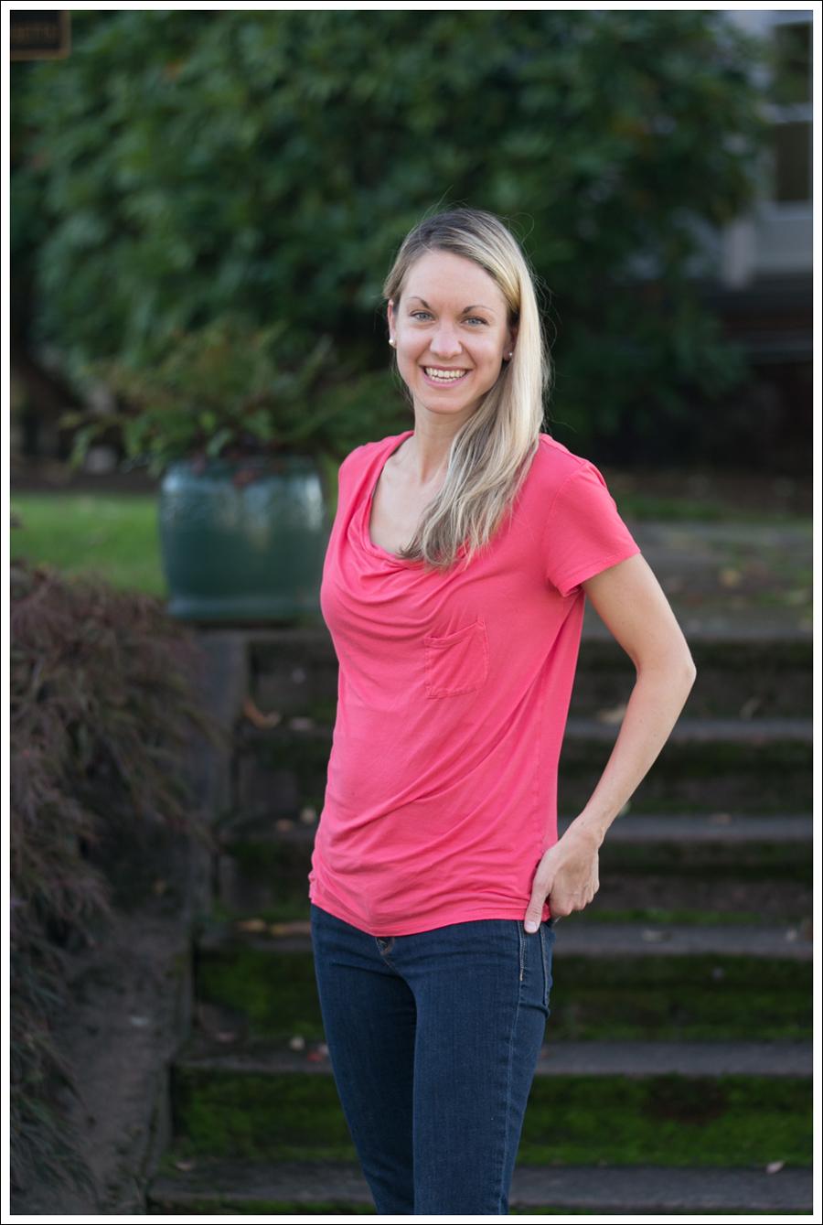 blog Pink Tee Gap Skinny-2