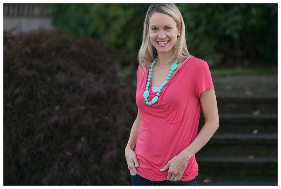 blog Pink Tee Gap Skinny-4