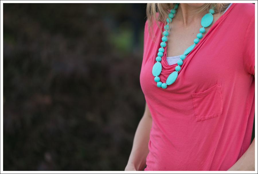 blog Pink Tee Gap Skinny-5