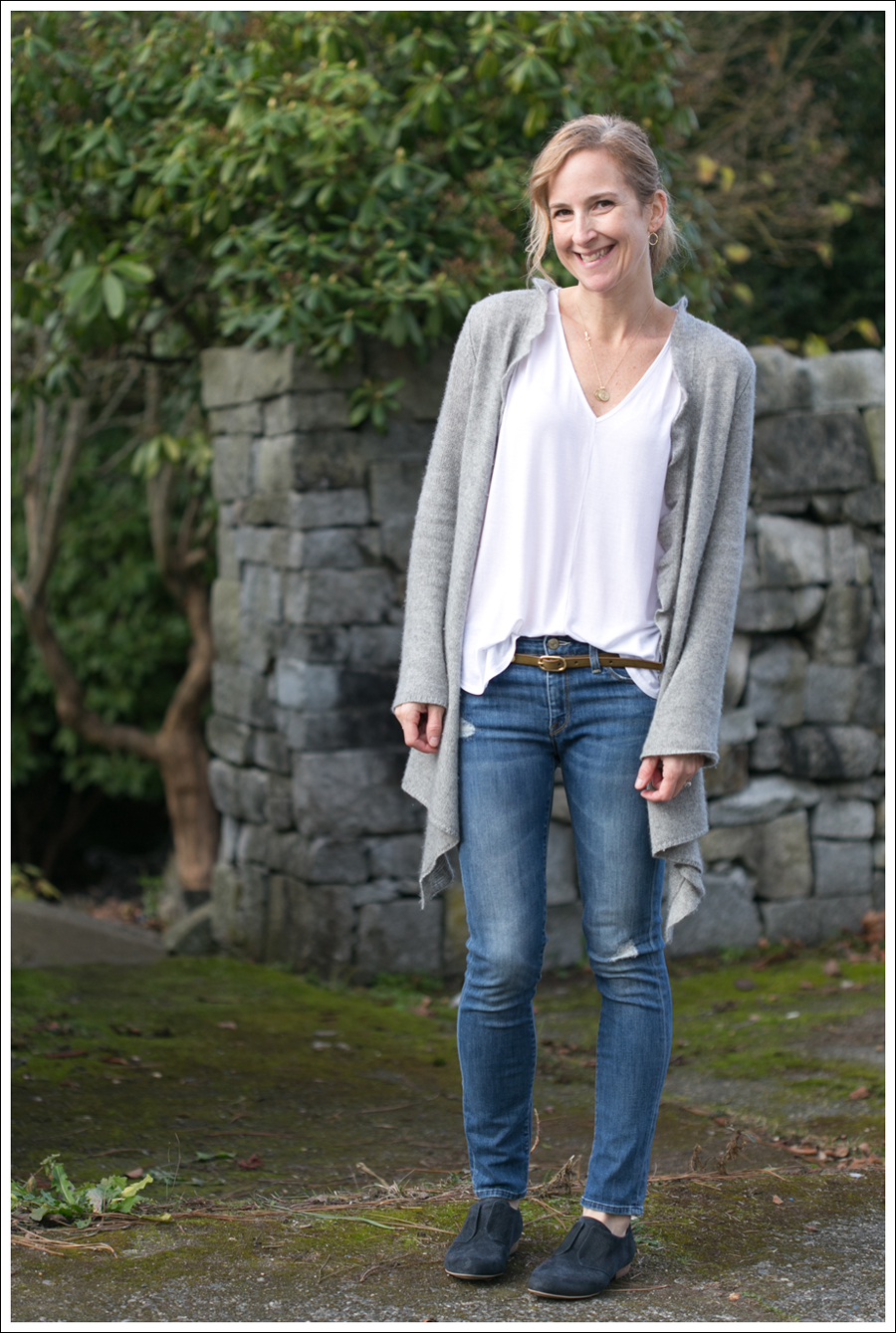 Blog Grey Cashmere Cardigan Vince Destroyed Skinny Miss Sixty Oxfords-1