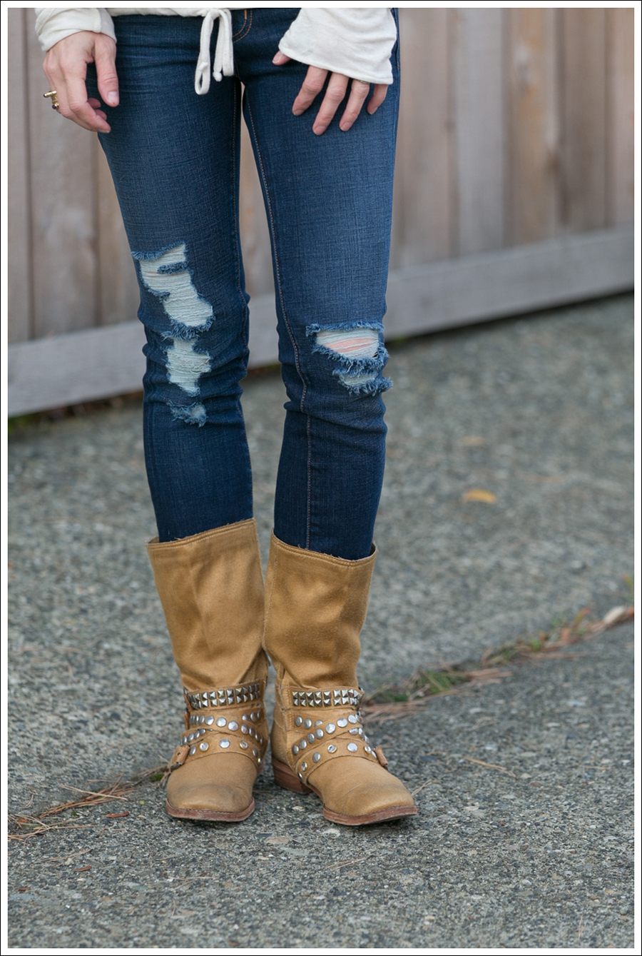 Blog Lady and the Sailor Top J Brand Destroyed Jeans Ash Boots-2