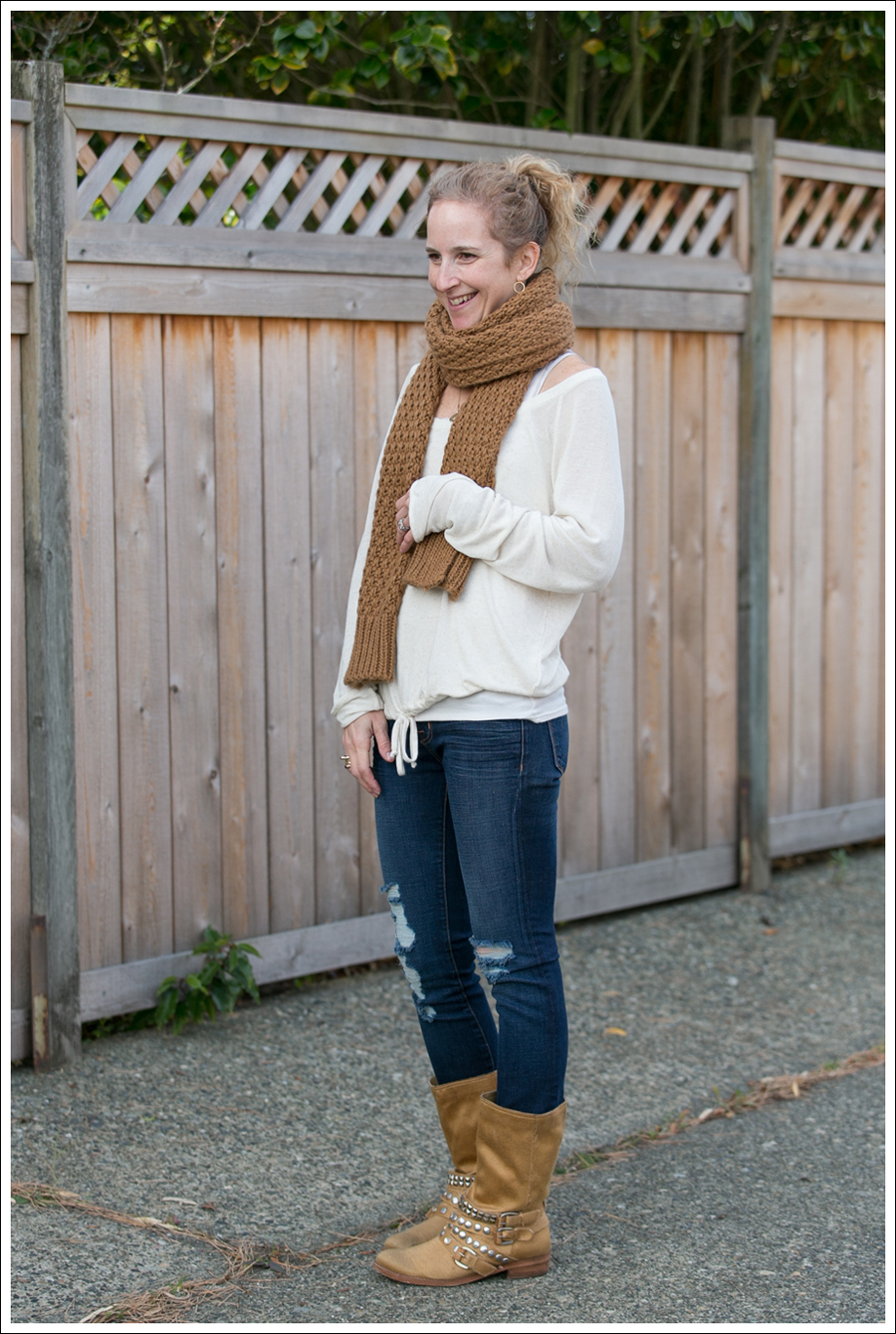 Blog Lady and the Sailor Top J Brand Destroyed Jeans Ash Boots-5