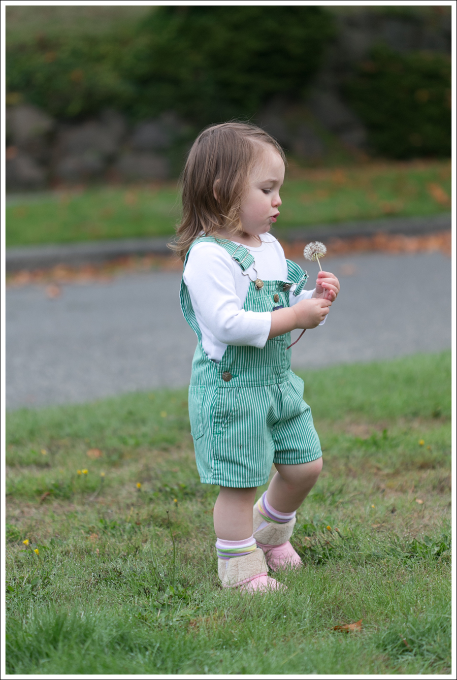 Blog Maya 105 weeks Green Striped Osh Kosh Overalls-2