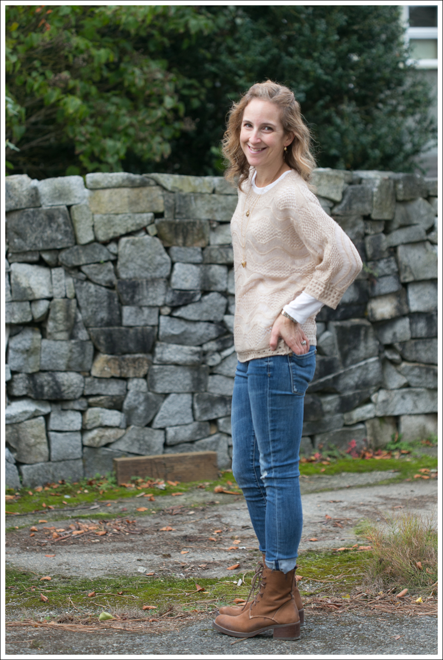 Blog StyleMint Sage Sweater Vince Skinny Jeans-5