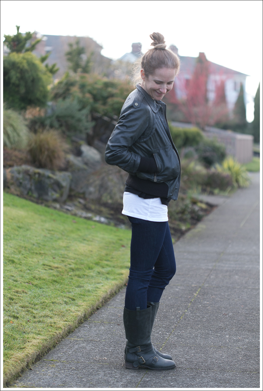 Blog Doma Leather Jacket J Brand Joie Boots-11