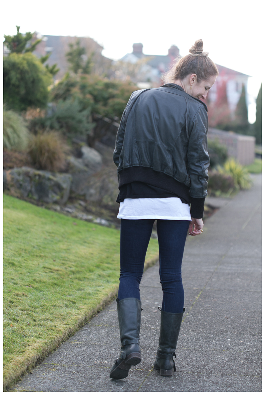 Blog Doma Leather Jacket J Brand Joie Boots-12