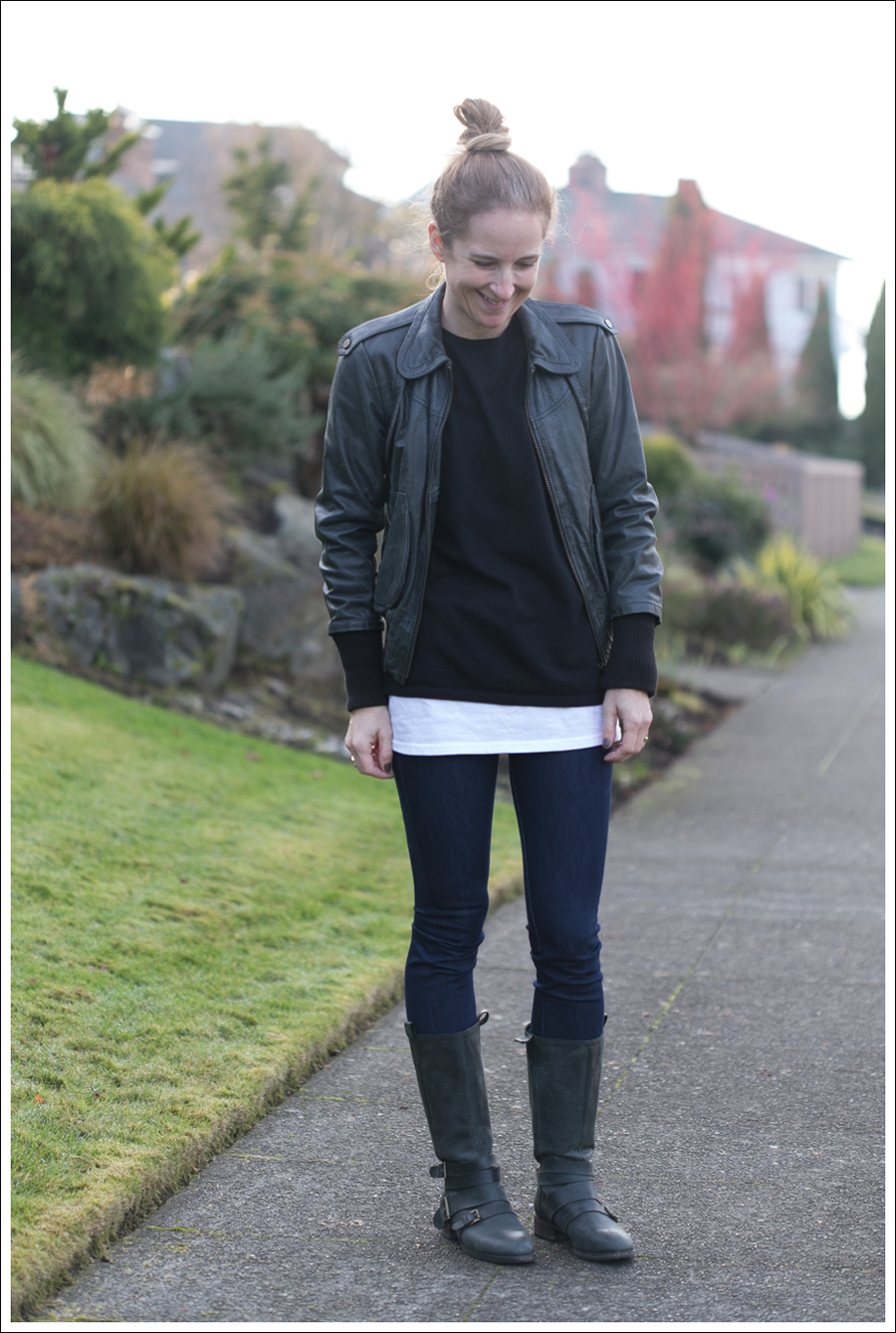 Blog Doma Leather Jacket J Brand Joie Boots-9