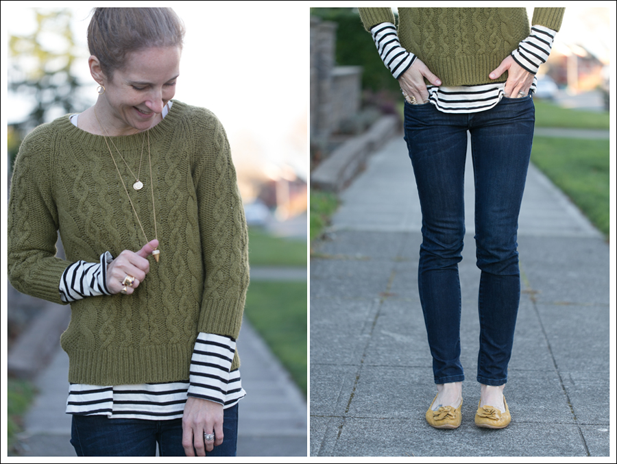Blog J Crew Sweater StyleMint Tee Blank NYC Zipper Jeans-2