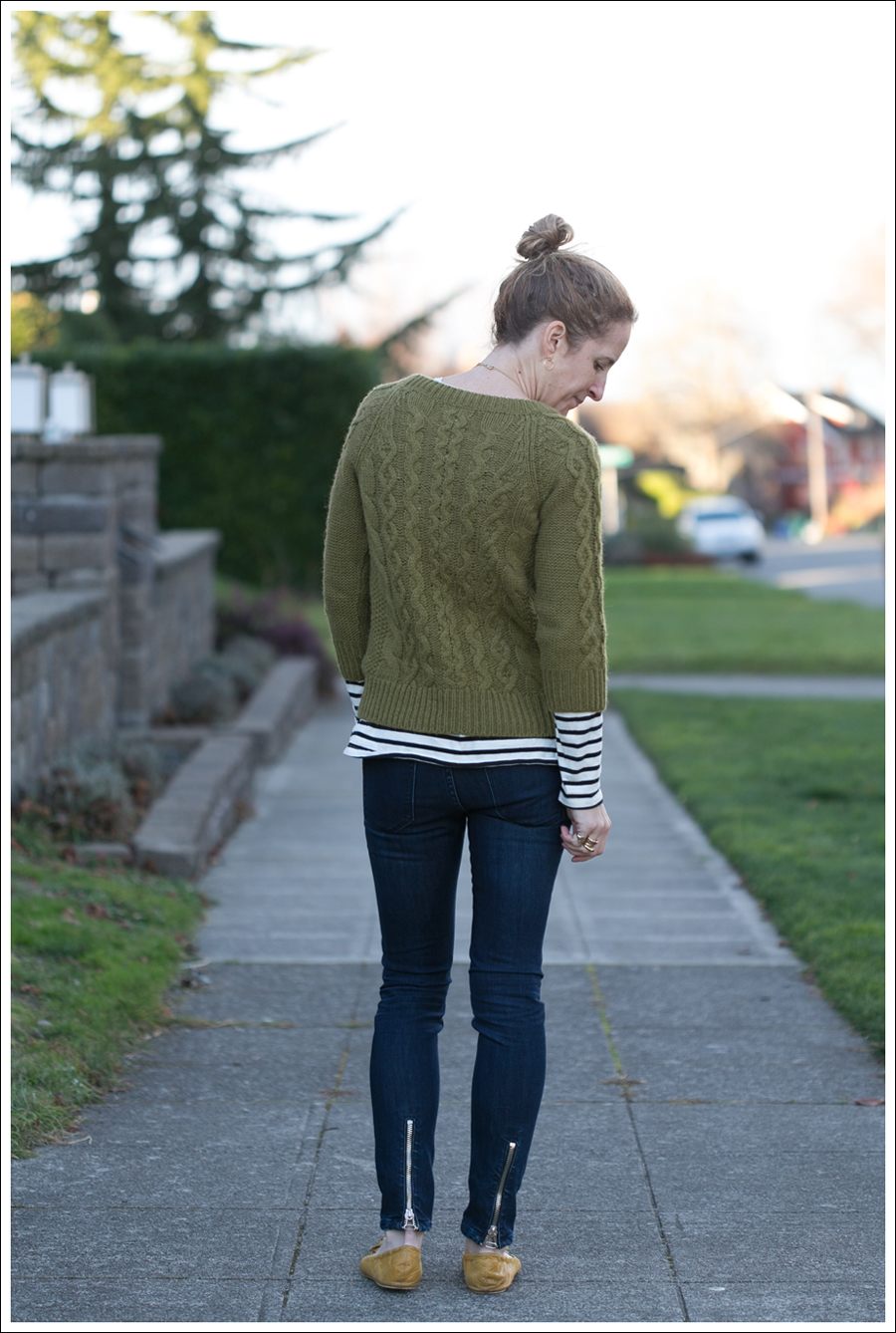 Blog J Crew Sweater StyleMint Tee Blank NYC Zipper Jeans-4