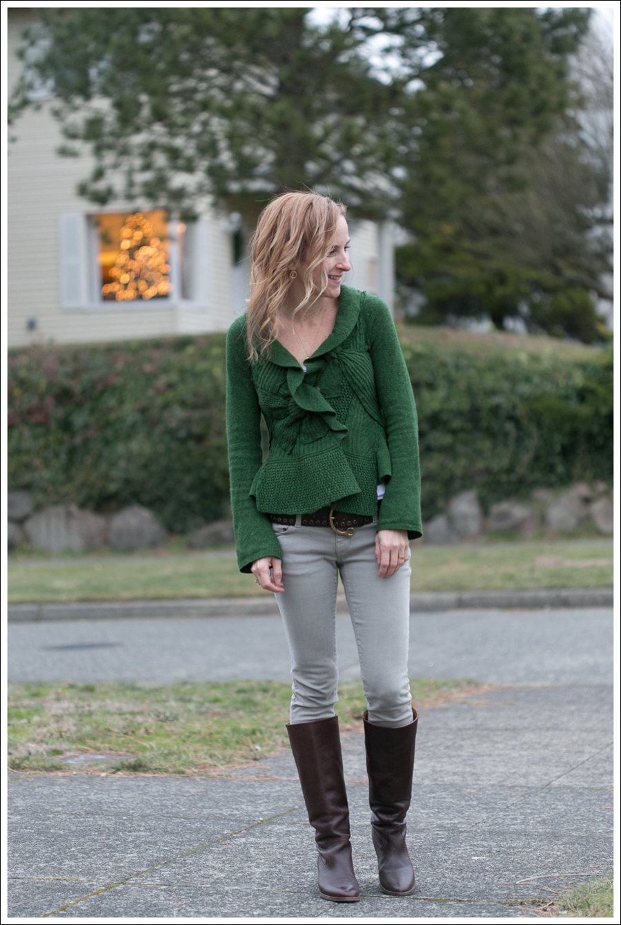 Blog Moth Anthropologie Sweater Community Denim Frye Boots-1