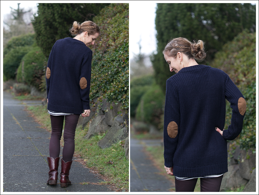 Blog Navy Zara Boyfriend Sweater Dylan George Vintage Frye-5