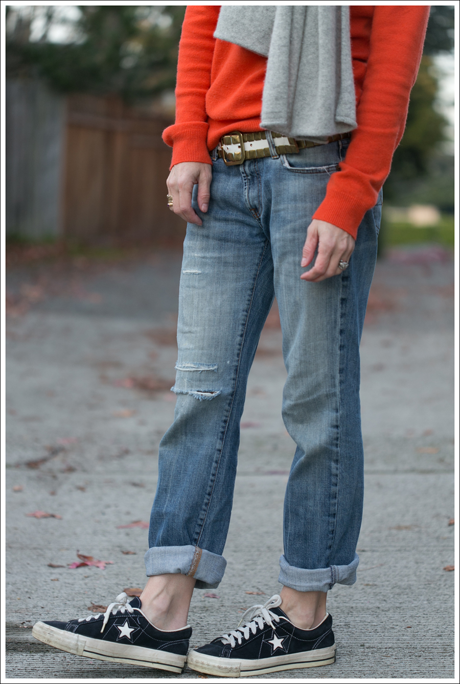 Blog Orange Stylemint Sweater 7FAM Converse-3