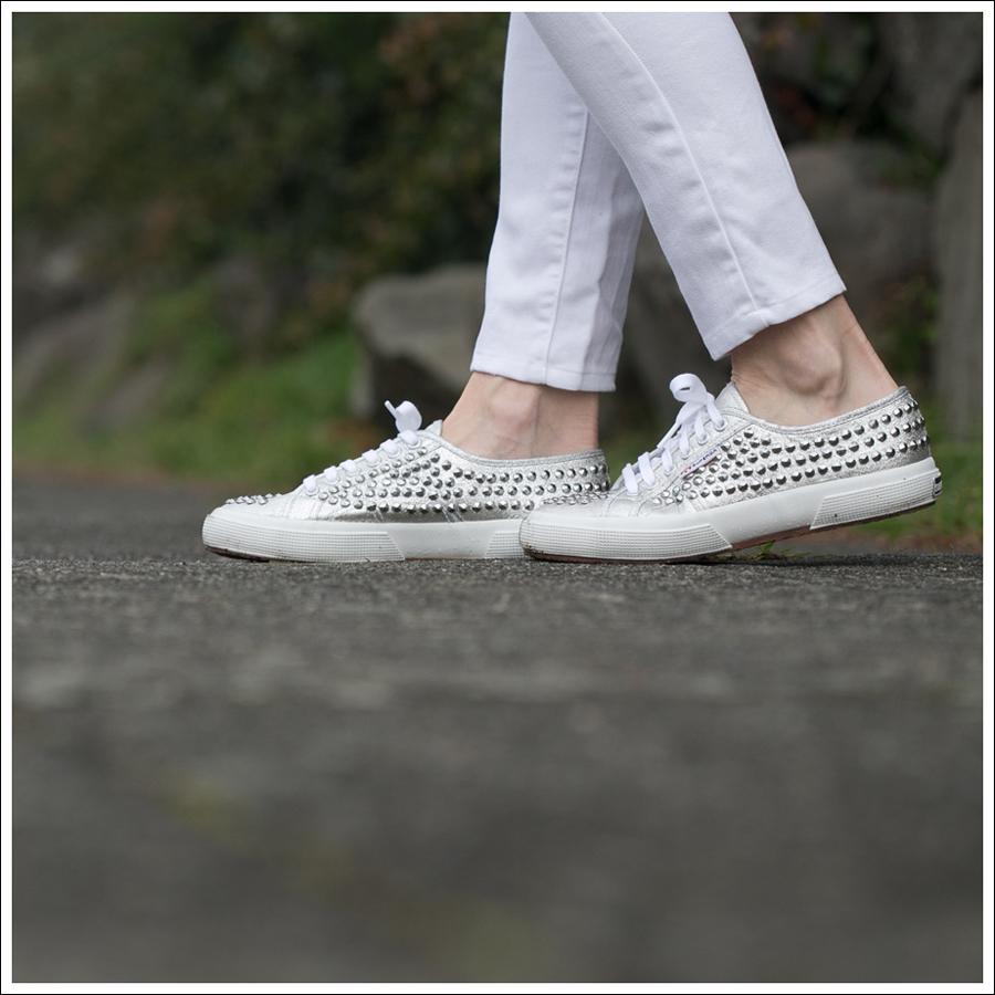 Blog Genetic Denim JCrew Apron Top Zara Sweater Superga Studded Shoes-4