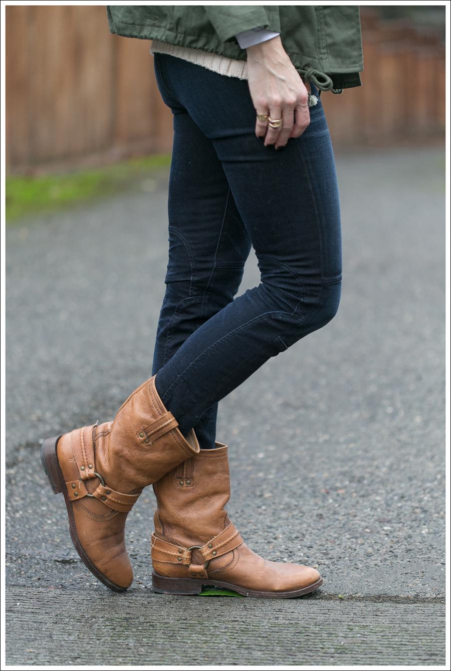 Blog StyleMint Jacket Zara Sweater J Brand Moto Frye Boots-7