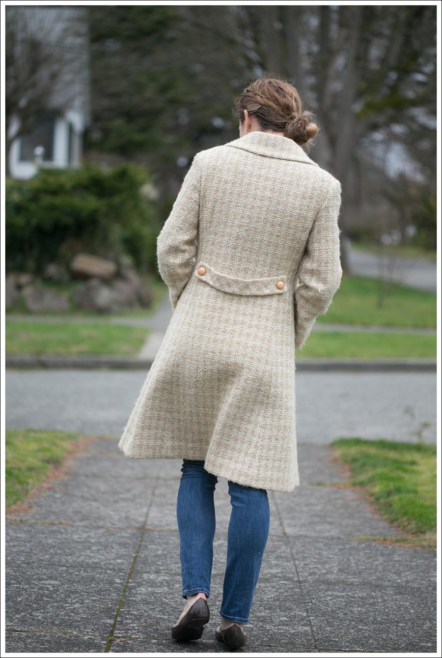 Blog Vintage Coat HM Top Vince Jeans Blayconcept Shoes-5