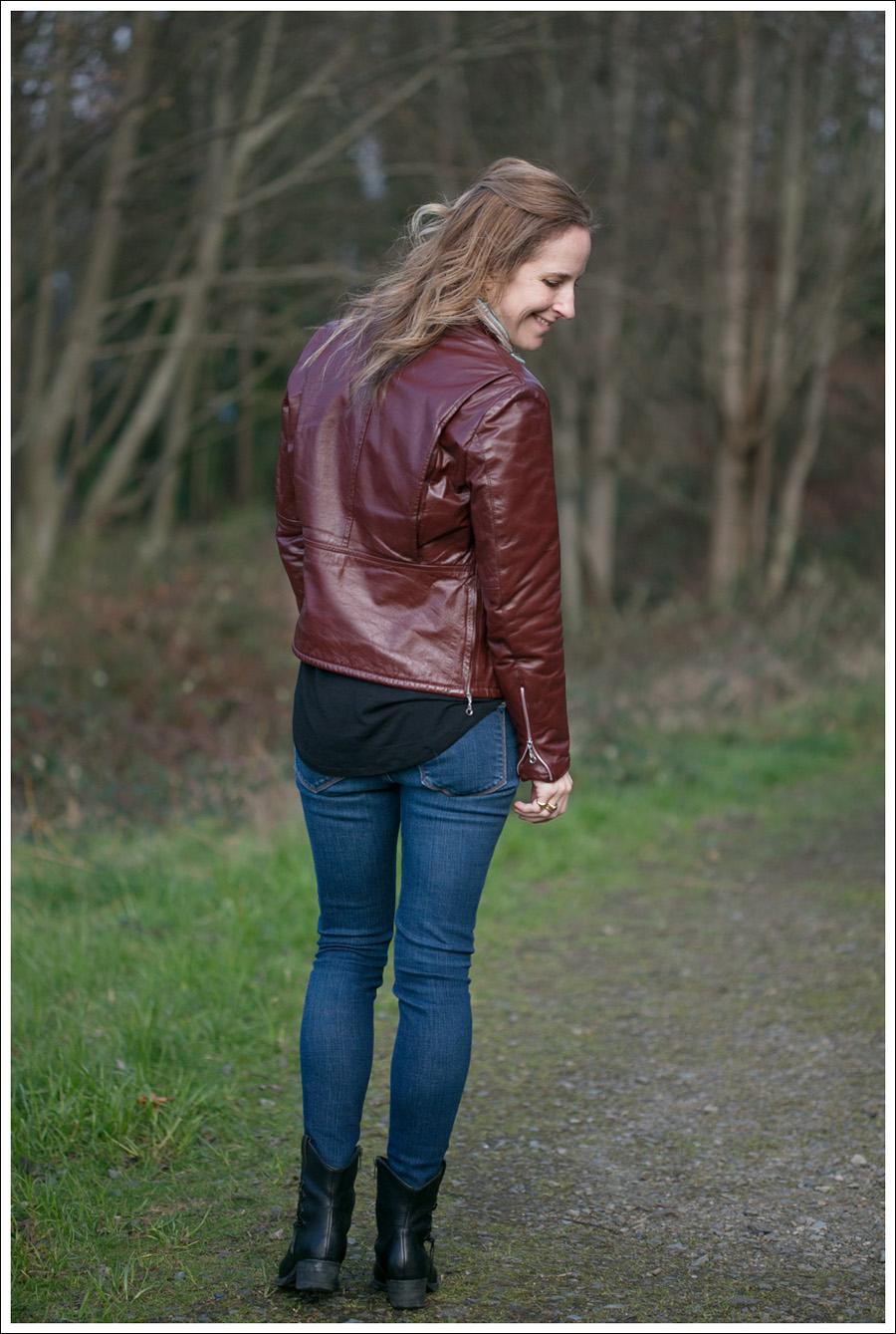 Blog Vintage Leather Jacket Zara J Brand Born Booties-6
