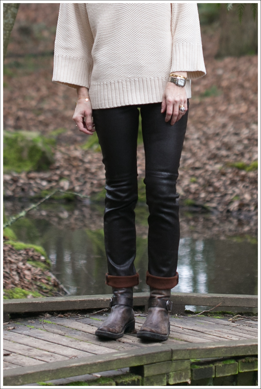 Blog Zara Sweater Goldsign Leather Pants Booties-3