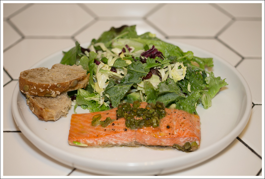 Blog Baked Salmon with Salad-1