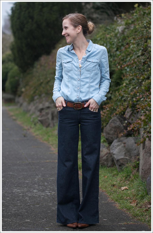 Blog Denim on Denim StyleMint Goldsign Dietrich Wide Leg-3