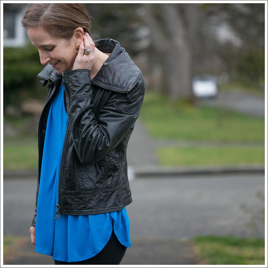 Blog Doma Leather Jacket Zara Joes Jeans Zipper Pura Lopez Oxfords-3