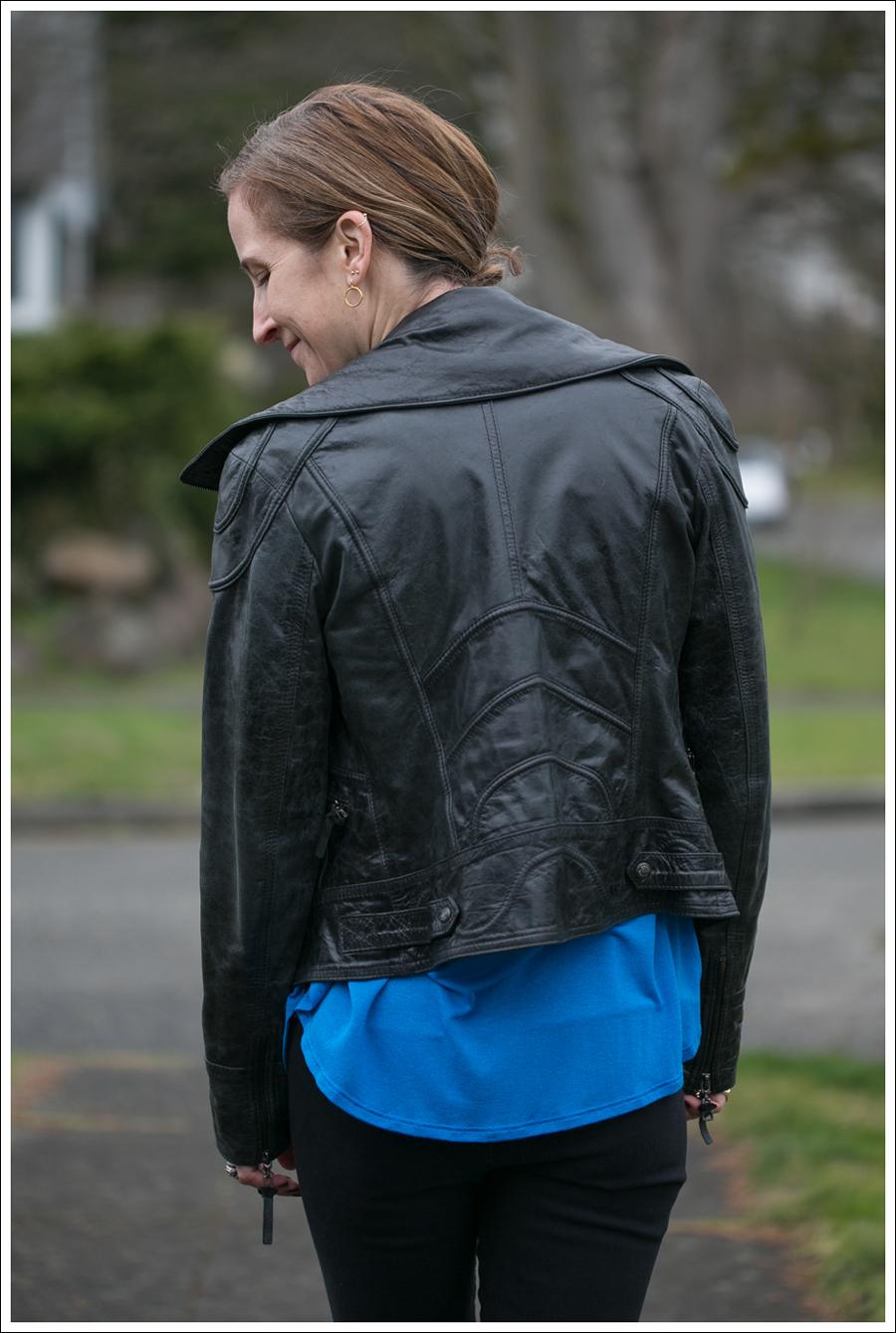 Blog Doma Leather Jacket Zara Joes Jeans Zipper Pura Lopez Oxfords-5
