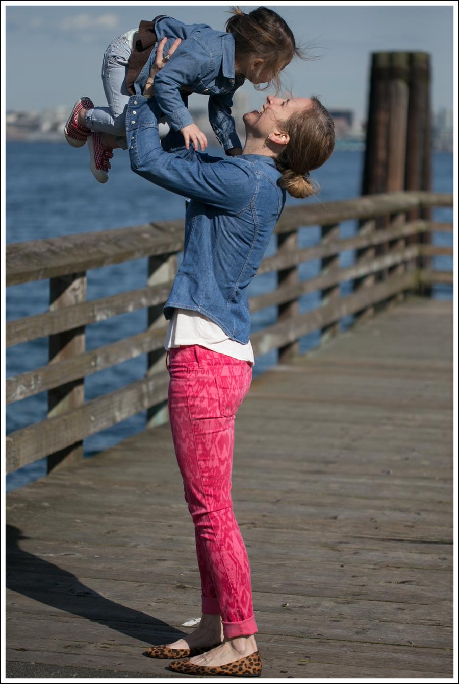 Blog Gap Shirt Black Orchid Ikat Jeans Leopard Flats-4