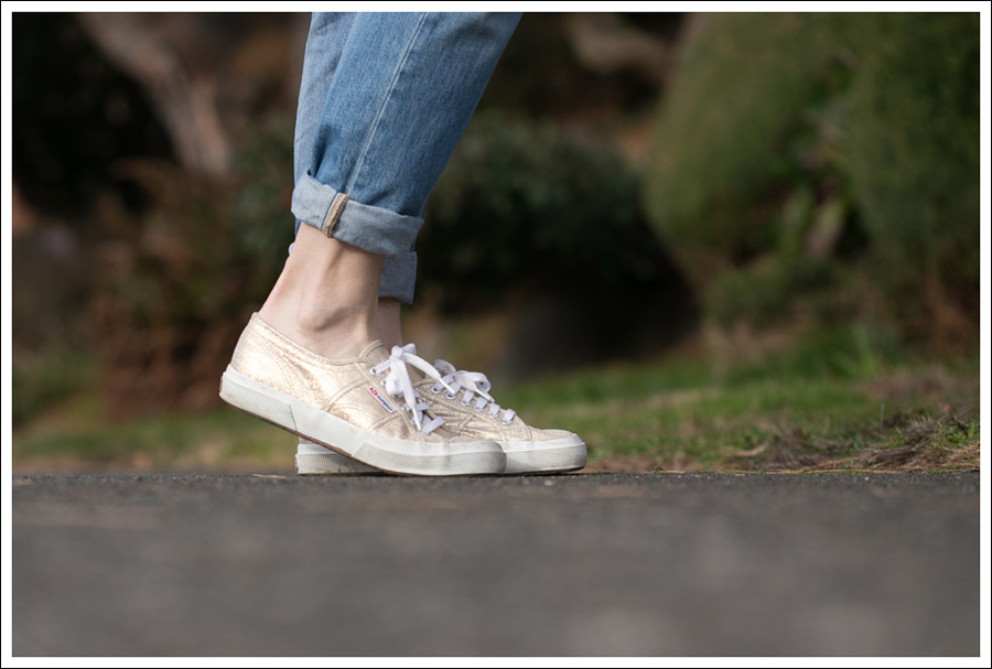 Blog J Crew J Brand Destroyed Aiden Gold Superga-5