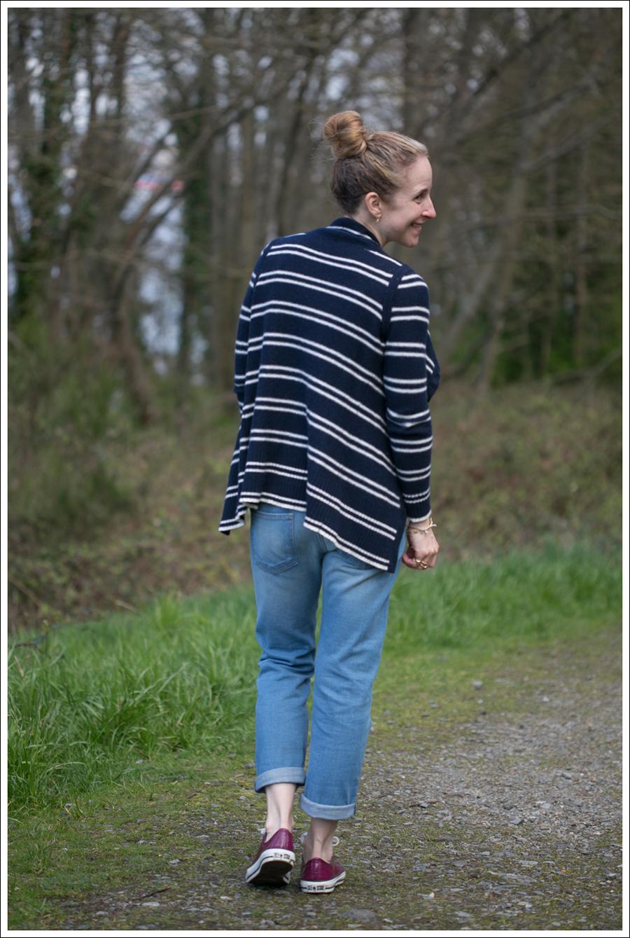 Blog Banana Republic Sweater Current Elliott Boyfriend Jeans Converse-3