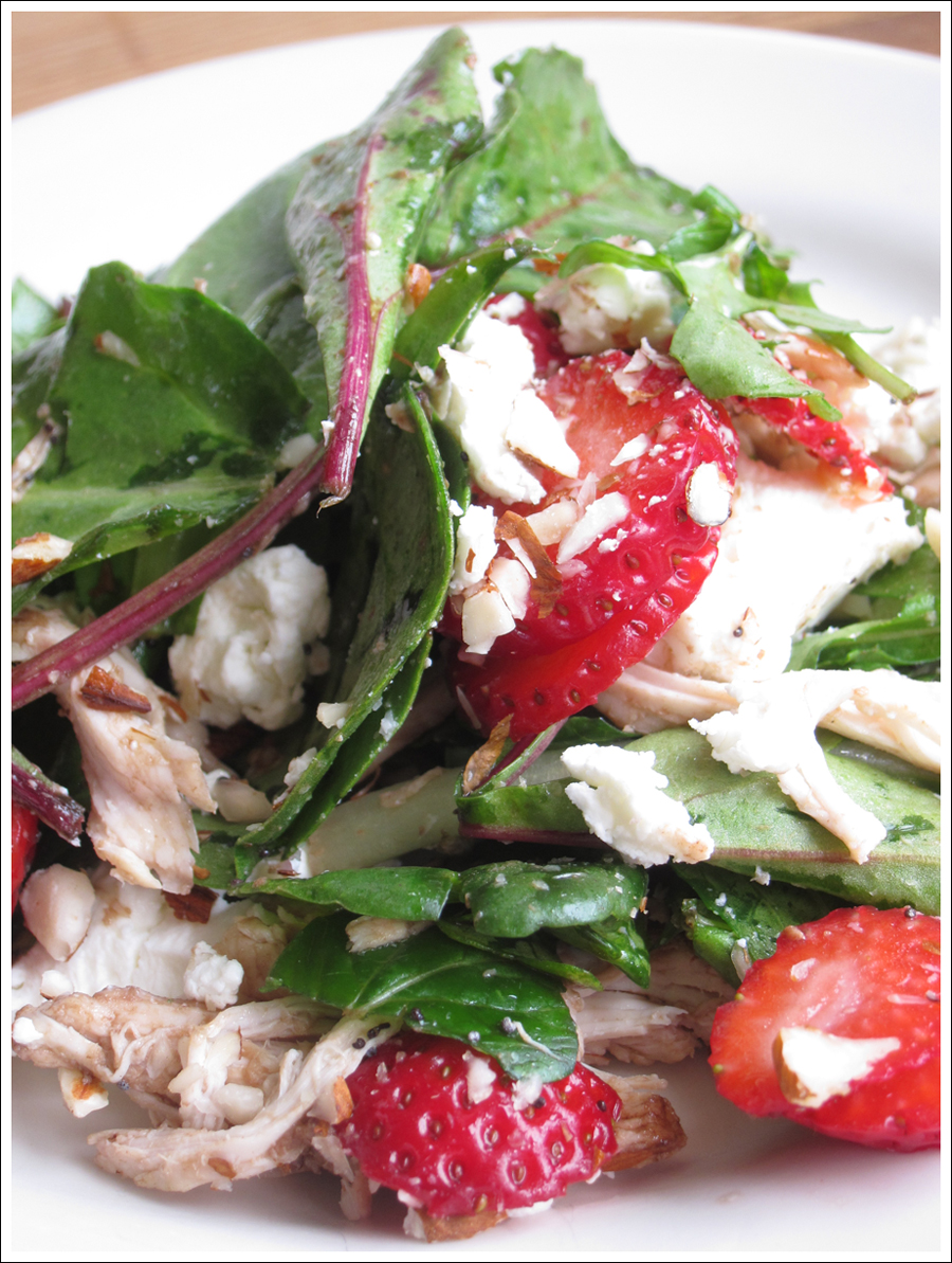 Blog chickenstrawberryspinachsalad