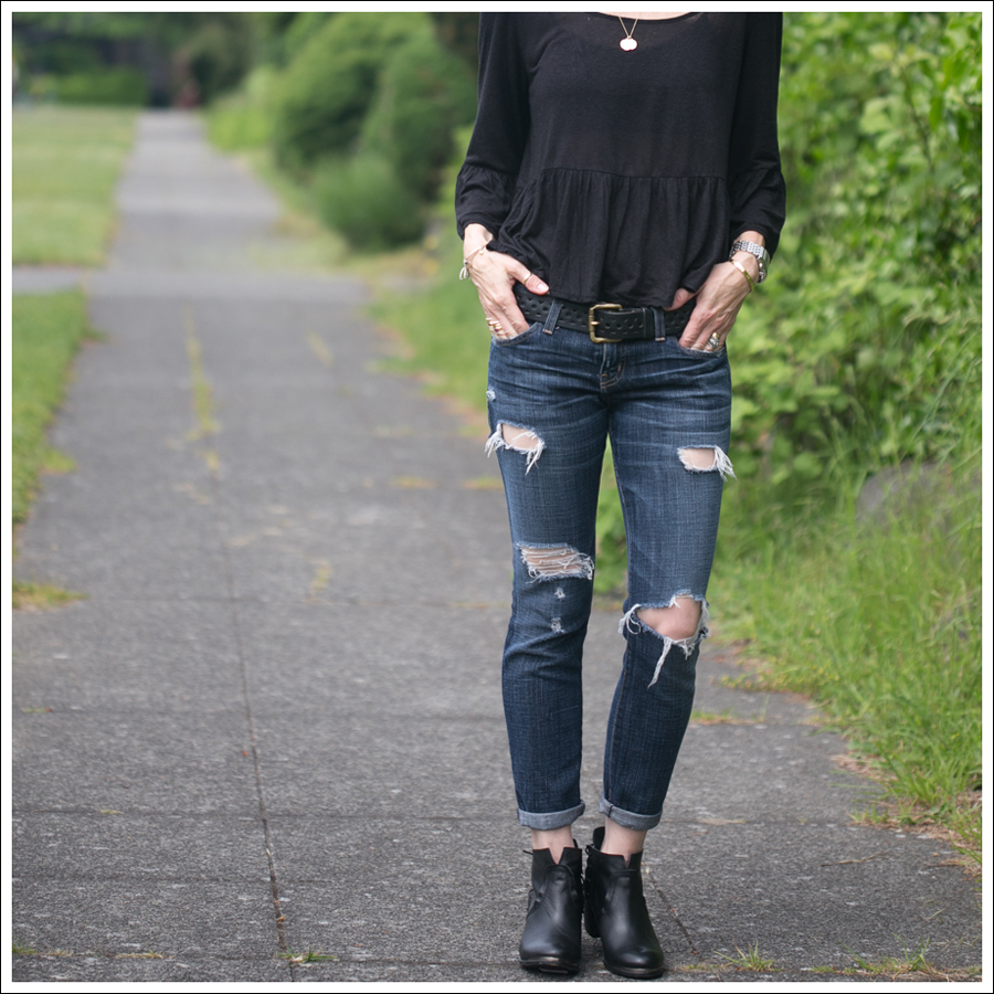 Blog Free People Top Current Elliott Skinny Destroyed SixtySeven Booties-2