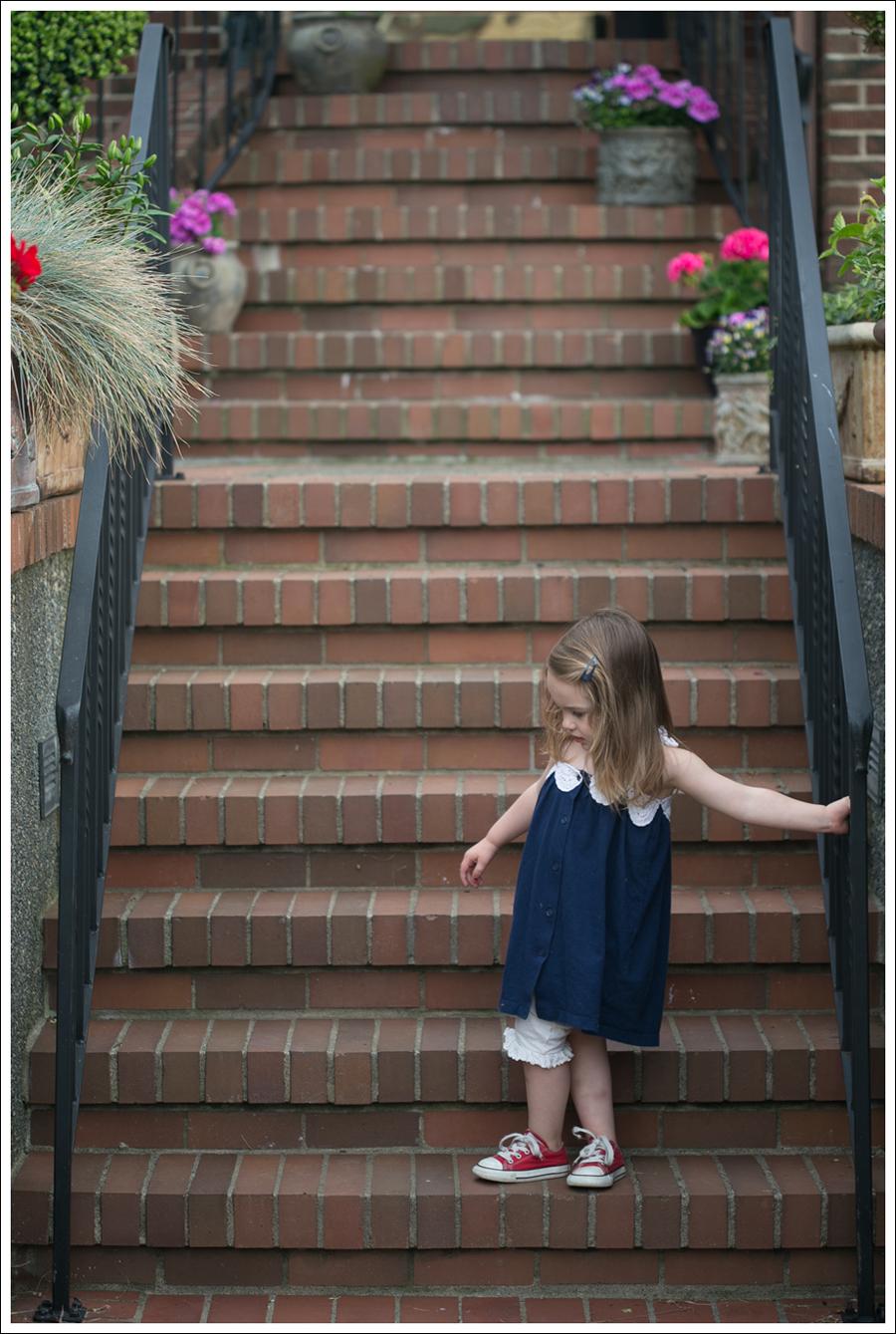 Blog Gap Dress B Nature Bloomers Red Converse-3