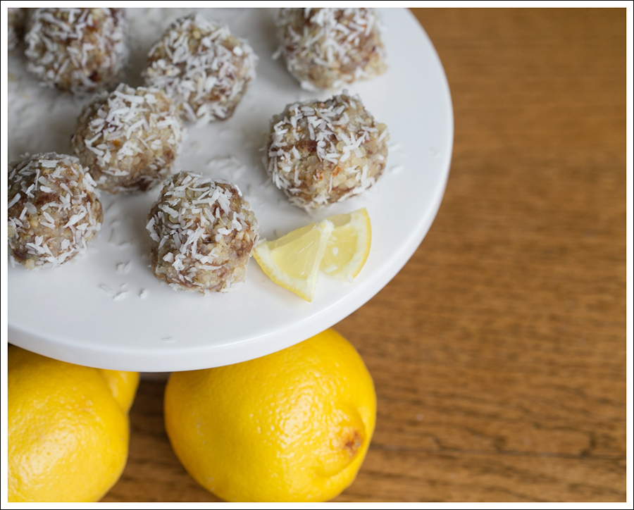 Blog No Bake Gluten Free Lemon Coconut Quinoa Balls -2