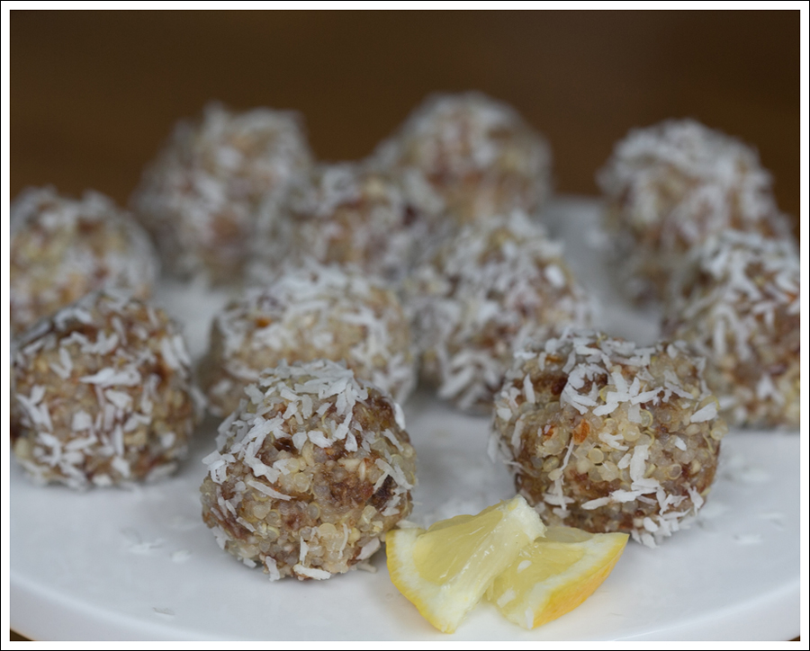 Blog No Bake Gluten Free Lemon Coconut Quinoa Balls -3
