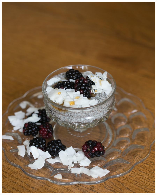 Blog Paleo Chia Pudding with Blackberries Coconut Shavings-1