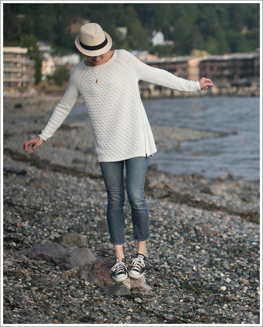 Blog Trouve Zip Sweater Goldsign Frontier Black Converse-1